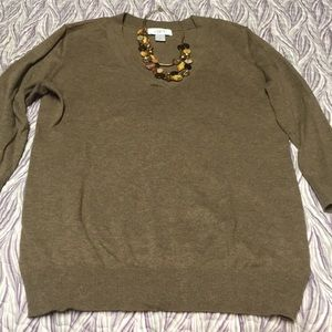 Ann Taylor Loft sweater, size small
